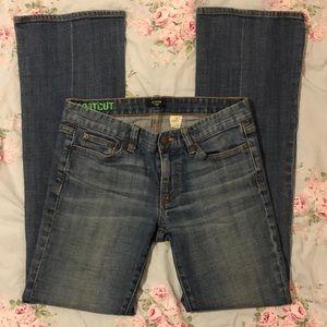 J.Crew Women's Size 6/28R Bootcut Jeans